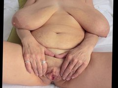 Barbara Big vidz hanging boobs  super milf cum tribute 1