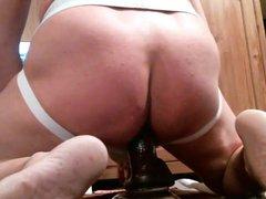dildo popper vidz sissy training  super with spanking