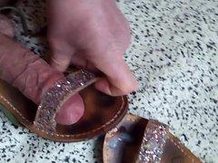 Scopo sandali vidz bassi con  super brillantini