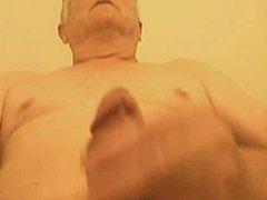 Senior stroke vidz and cum