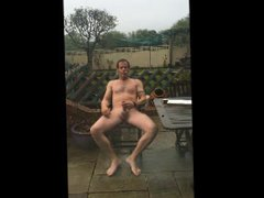 BUIZDIT NAKED vidz AND HARD  super IN THE GARDEN