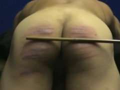 20 cuts vidz of the  super cane (muscle guy's ass hard caning)