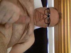 Hot hairy vidz daddy stroking  super 2