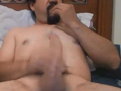 Very handsome vidz macho jerking  super off playing with nipples 2