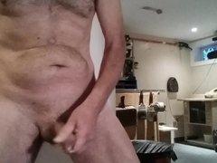 Wank and vidz cum in  super my workshop