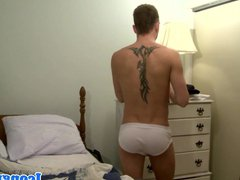 Young stud vidz assfucked by  super older guy until cum