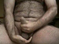 Hairy bear vidz cumming 2
