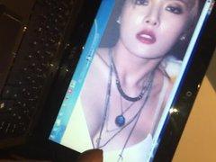 cum on vidz Hyuna (birthday  super tribute)