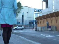 Monique as vidz a prostitute  super on the street