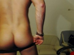Muscle Stud vidz Naked Jerk  super and pose