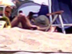 Candid 04 vidz getting hard  super on nude beach, hidden cam slow mo