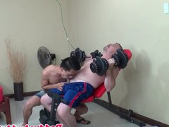 Daddy doggystyling vidz filipino twink  super bareback