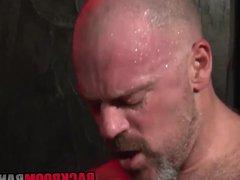 Two gorgeous vidz hunks Nick  super and Bronson enjoy in hard anal sex