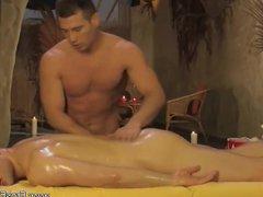 Intense Anal vidz Massage From  super Asia
