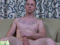 Tyler Seids vidz jerking action  super showing his fully hard big cock