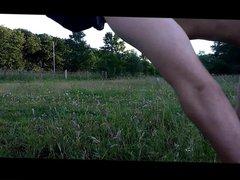 naked boy vidz (me) in  super public