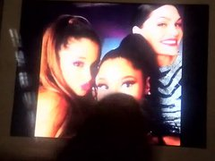 Ariana Grande vidz Jessie J  super and Nicki Minaj cum tribute #19