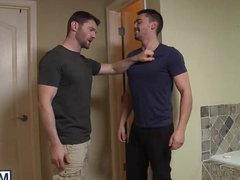 Asher gets vidz drilled from  super behind by his hot not stepdad