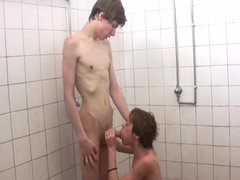 Soccer boys vidz hot shower