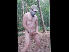 exhibitionist naked vidz public outdoor  super cumshot