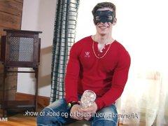 Maskurbate Lawnmower vidz Man Takes  super On The Challenge