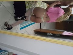 Blonde Shemale vidz Sucks Dick  super and Gets Fucked