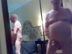 grandpa stroke vidz and cum  super on cam