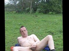 Dare: strip vidz off and  super wank in an open field.
