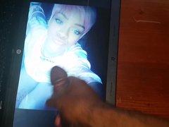 Jerk off vidz Tribute to  super Rihanna(No cum)