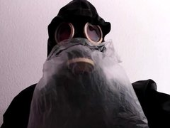 Rubber Gasmask vidz Bag Breathplay