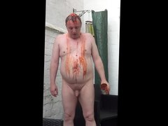 Toby's Naked vidz Baked Bean  super Humiliation