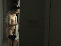 Hidden Cam- vidz Asian Roommate