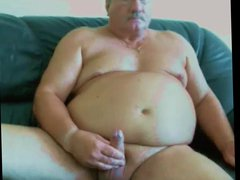 really sexy vidz daddy stroke  super and cum on cam
