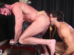 Diego Sans vidz pounds the  super cum out of Billy Santoros cock