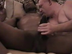 Mr.18 Inches vidz gets his  super big dick sucked by a white daddy part2