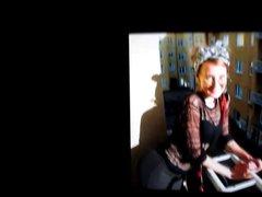 Heidi Nummi's vidz ass cum  super tribute (a double feature)