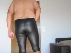 Cum in vidz shiny wetlook  super Leggings