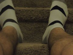 Socks And vidz Bare feet