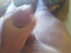 Me - vidz Teen boy  super jerk hand job with condom