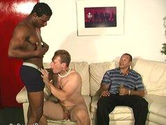 White perv vidz gets black  super cock punishment