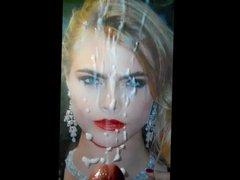 Cara Delevingne's vidz 24th Birthday  super Blast (Cum Tribute #5)