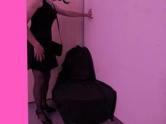Sissy Anna vidz #10 Nylon  super feet tease and Dildo play