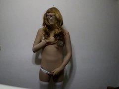 Zentai lori vidz crossdresser Bikini  super cum