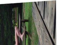 Horny exhibitionist vidz at the  super campground