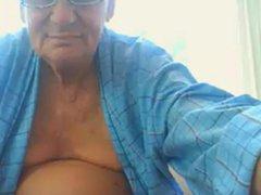grandpa stroke vidz and suck  super dildo