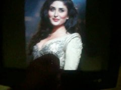 Cum tribute vidz on Kareena  super Kapoor hot Armpit