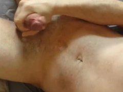 Buddy cums vidz on my  super chest and I cum on my stomach