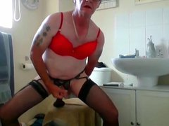 sissy ken vidz wanks with  super chocolate bar