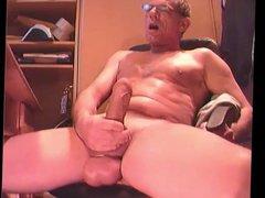 grandpa cum vidz on cam