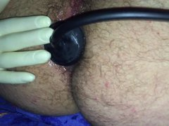 Asshole Training vidz 6cm Plug  super and PumpPlug Prolapse